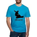 iBoard Men's Fitted T-Shirt (dark)