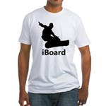 iBoard Fitted T-Shirt