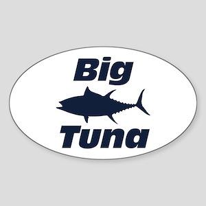 Big Tuna Sticker (Oval)
