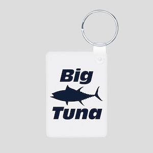 Big Tuna Aluminum Photo Keychain
