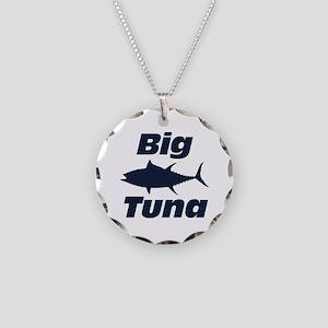 Big Tuna Necklace Circle Charm