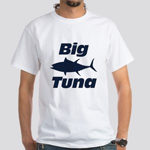 Big Tuna White T-Shirt