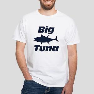 Big Tuna White T-Shirt