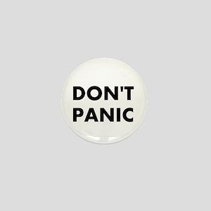 Don't Panic Mini Button