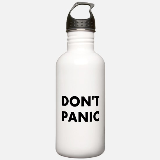 Don't Panic Water Bottle