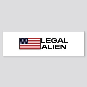 Legal Alien Sticker (Bumper)