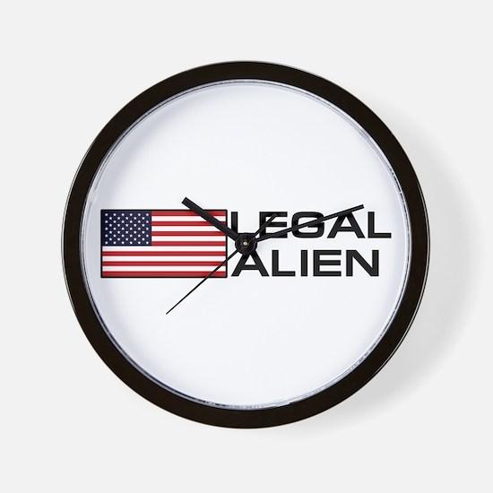 Legal Alien Wall Clock