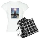 Christmas Star Women's Light Pajamas