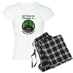 Xmas Peas on Earth Women's Light Pajamas
