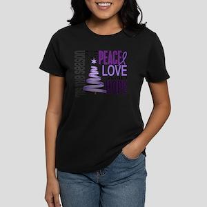Christmas 1 Hodgkin's Lymphoma Women's Dark T-Shir