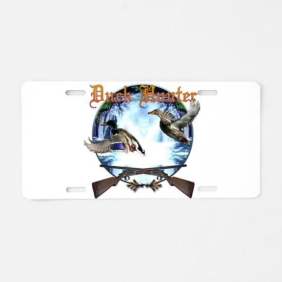 Duck hunter 2 Aluminum License Plate