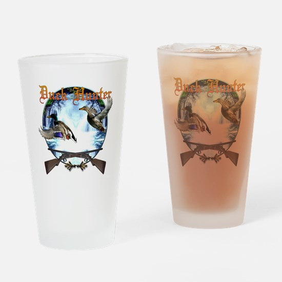 Duck hunter 2 Drinking Glass