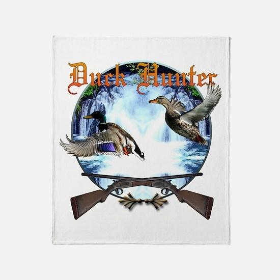 Duck hunter 2 Throw Blanket