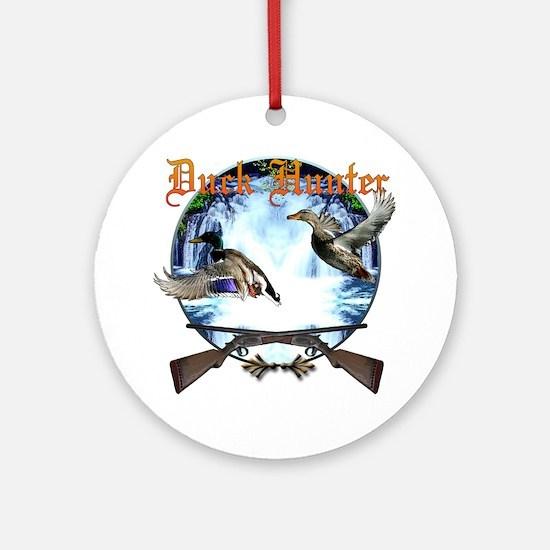Duck hunter 2 Ornament (Round)