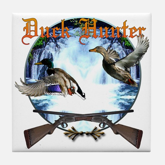 Duck hunter 2 Tile Coaster