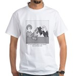Train Wreck White T-Shirt