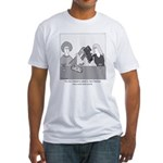 Train Wreck Fitted T-Shirt