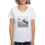 Train Wreck Women's V-Neck T-Shirt