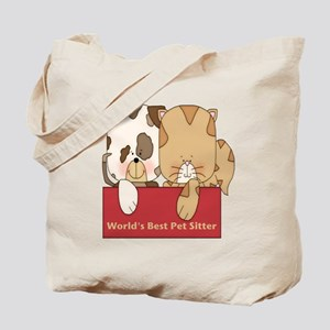 Best Pet Sitter Tote Bag