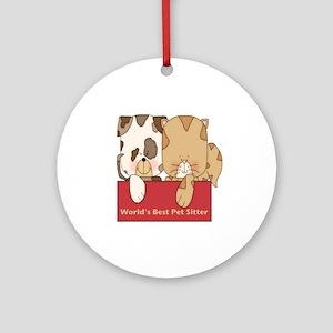 Best Pet Sitter Ornament (Round)