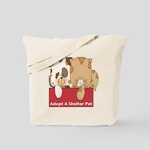 Adopt Shelter Pets Tote Bag