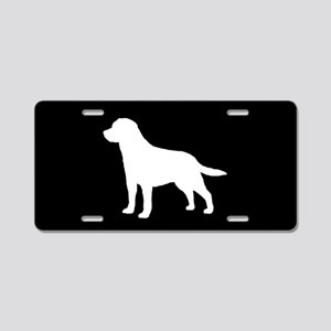 Labrador SILHOUETTE Aluminum License Plate