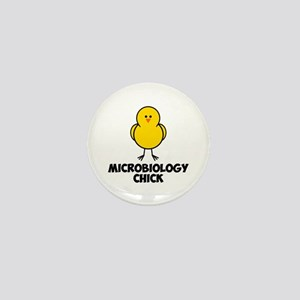 Microbiology Chick Mini Button