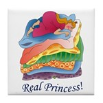 Real Princess Tile Coaster
