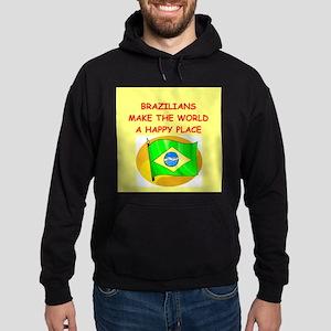 happy brazilians Hoodie (dark)