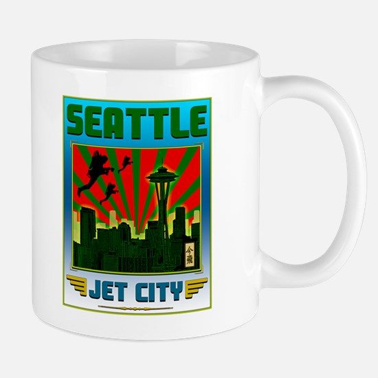SEATTLE - JET CITY Mug