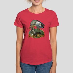 Musky Hunter 9 Women's Dark T-Shirt