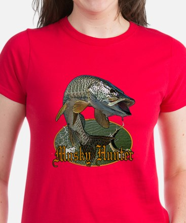 Musky Hunter 9 Women's Dark T-Shirt
