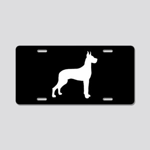 Great Dane SILHOUETTE Aluminum License Plate