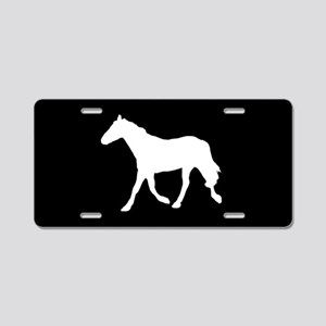 Horse SILHOUETTE Aluminum License Plate