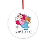 Big Sis Ornament (Round)