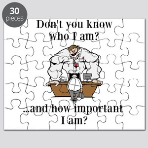 Don't you know who I am? Puzzle