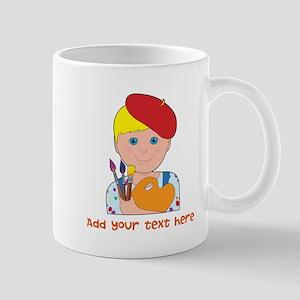 Artist Child Boy Mug