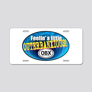 OUTERBANXIOUS Aluminum License Plate