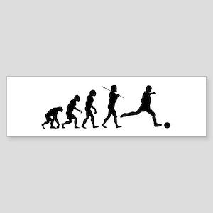 Soccer Evolution Sticker (Bumper)