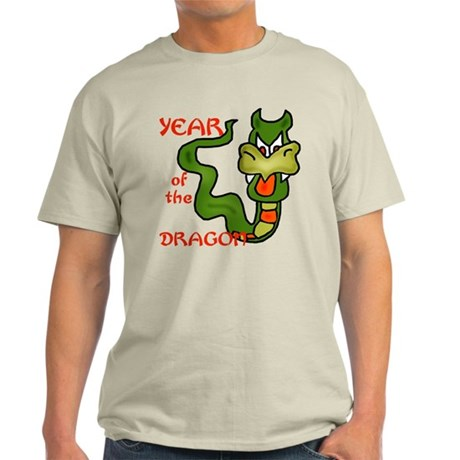 Year of the Dragon Cartoon Light T-Shirt
