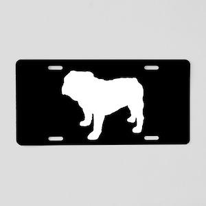 Bulldog SILHOUETTE Aluminum License Plate
