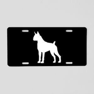 Boxer SILHOUETTE Aluminum License Plate