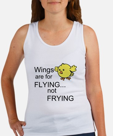 Wings are for Flying Women's Tank Top