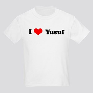I Love Yusuf Kids T-Shirt