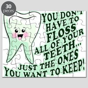 Funny Dental Hygiene Puzzle