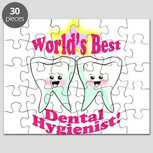 Worlds Best Dental Hygienist Puzzle