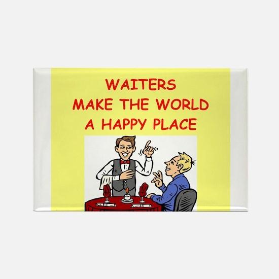 happy waiters Rectangle Magnet