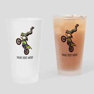 Motocross Jump Drinking Glass