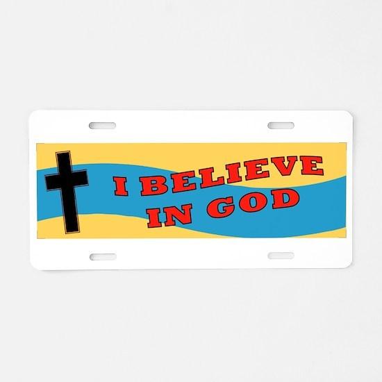 Cute Episcopal Aluminum License Plate