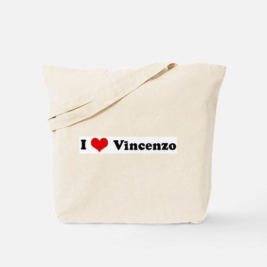 I Love Vincenzo Tote Bag